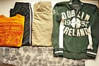 Lot of boys Fall Winter clothes size 8 Abercrombie Lucky shawn white
