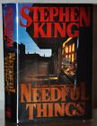 SIGNED NEAR FINE 1ST 1ST EDITION NEEDFUL THINGS STEPHEN KING