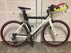Quintana Roo Seduza Carbon Triathlon Bicycle Size Medium Shimano Profile Design