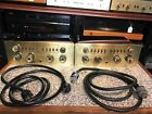 VINTAGE PAIR MCINTOSH C8 TUBE PREAMP IN GREAT CONDITION OCTAL PLUGS