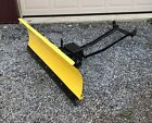 JOHN DEERE 48 INCH BLADE SNOW PLOW FITS VARIOUS MODELS EXCELLENT CONDITION