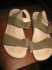NICE Cushioned Insole Mephisto Sandals Backstrap Green khaki EUR40 approx 9
