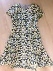 J Crew Factory Floral Fit And Flare Dress Size 6