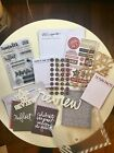 Ali Edwards REVIEW Story Stamp And Story Kit New Unused