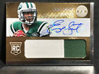 2013 Totally Certified GOLD 2-COLOR JERSEY AUTO Geno Smith RC 24 25 Jets ROOKIE
