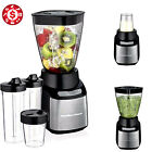 8 pc Electric Blender Chopper Food Processor Smoothie Drink Mixer Ice Crusher