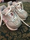 Girls Toddlers Nike Shoes Gray And Pink Size 3