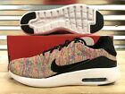 Nike Air Max Modern Flyknit Running Shoes Multi Color White SZ 10  876066 403