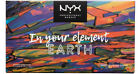 NEW NYX LIMITED IM YOUR ELEMENT EARTH COLLECTION SHADOW PALETTE