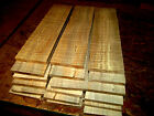 TEN 10 THIN KILN DRIED SANDED CURLY MAPLE 12 X 3 X 1 4 LUMBER WOOD