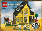 Lego Creator Beach House 3 in 1 4996 All pieces and manuals included No box