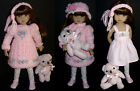 Embroidered Knit Dress Set 4 Dianna Effner Little Darling 13 MyMeadow Doll
