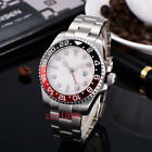 Bliger Sapphire Glass Dual time GMT stainless Automatic Mechanical mens watch 21