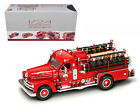 1958 Seagrave 750 Fire Engine Truck Red w Accessories 124 Diecast 20168r
