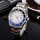 Bliger GMT Sapphire Glass Dual time stainless Automatic Mechanical mens watch 22