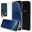 TPU Front +Back Set 360° Full protection Film Cover For Samsung Galaxy Note 8