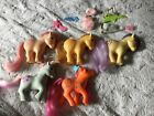 Hasbro My Little Pony MLP Vintage G1 Lot of 5 Ponies and Vintage Accsessories