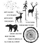 Tim Holtz Cling Rubber Stamps Great Outdoors CMS321