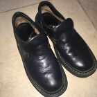 Born Mens Black Casual Loafer Shoes 10 M W Leather Slip On Driving