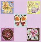 10 Bohemian Sayings Large Stickers Party Favors Rewards