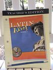 Latin Alive Bk 1 Teachers Edition with answer key and complete student text