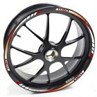 USEN Sticker wheel Rim Benelli TRE K 1130 K1130  Red White strip tape vinyl adhe