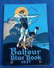 1927 BALFOUR BLUE BOOK CATALOG ART DECO JEWELRY FRATERNITY RINGS PENS COMPACTS++