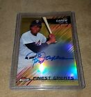 2016 Topps Finest Rod Carew Finest Greats Gold Refractor Autograph 50 Twins