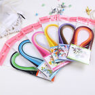 New 120 Stripes 6 Color Quilling Paper PaperCraft Artwork 3x390mm Hot