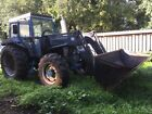 FORD 7610 FOUR WHEEL DRIVE c w QUICKE 560 Loading Shovel