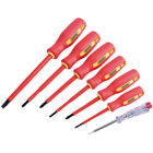 Draper 46540 fully insulated screwdriver set with mains tester (7 piece)