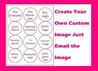 Create Your Own Personalized Edible Cupcakes or Cookie 2 topper decoration