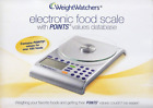 WEIGHT WATCHERS ELECTRONIC FOOD SCALE With DATABASE W BATTERY Model  30003 V1