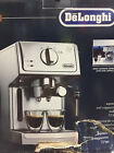 DeLonghi Espresso Cappuccino Coffee Maker with Milk Frother 15 Bar ECP3630