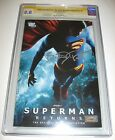 Superman Returns #1 photo cover signed by Brandon Routh CGC SS