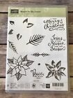 Stampin Up REASON FOR THE SEASON Retired Rubber Stamps Scrapbooking Jesus
