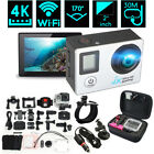 20 inch LCD Dual Screen 4K HD WiFi Sports DV Action Camera With Remote Control