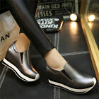 New Sport Womens Fashion Leather Sneakers Platform Wedges Ankle Boots High Heels