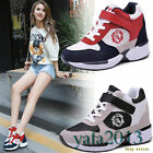 Womens Shoes Fashion Sneakers Wedge Sprt Ankle Boots Breathable Running Shoes