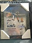 Derek Jeter, Framed and Autographed Photo Collage from 2014 - Steiner Authentic