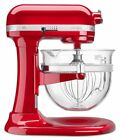 New Kitchen Aid KF26M2XER 6-Qt. Professional 600 Design Glass Bowl Red