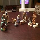 HX 281 Beautiful Nativity Set manufactured by Geobel in West Germany 12 Figures
