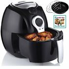 Air Fryer Electric Low Fat Healthy Oil-Less AirFryer System Timer Temp Control