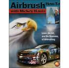 Airbrush How To wtih Mickey Harris Freehand Airbrushing Art Painting Book NEW