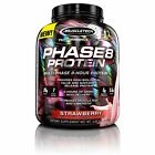 MuscleTech Phase 8 Protein Powder Sustained Release Multi-Phase 8-Hour Protei...