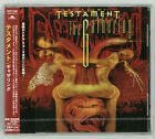TESTAMENT The Gathering POCP-7428 CD JAPAN 1999 NEW 1ST PRESS +1 BONUS TRK s5448