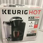 NEW KEURIG HOT K55 CLASSIC K-Cup Coffee Brewer Maker with 4 Kcups