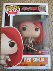 RED SONJA Funko Pop PX Preview Blood Splatter exclusive! Conan Red Sonja comics