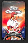 2012 Topps Chrome Baseball Sealed Hobby Box