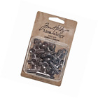 Tim Holtz Idea ology TH92692 Metal Hinge Clips 1 Inch Pack of 15 Antique Nick